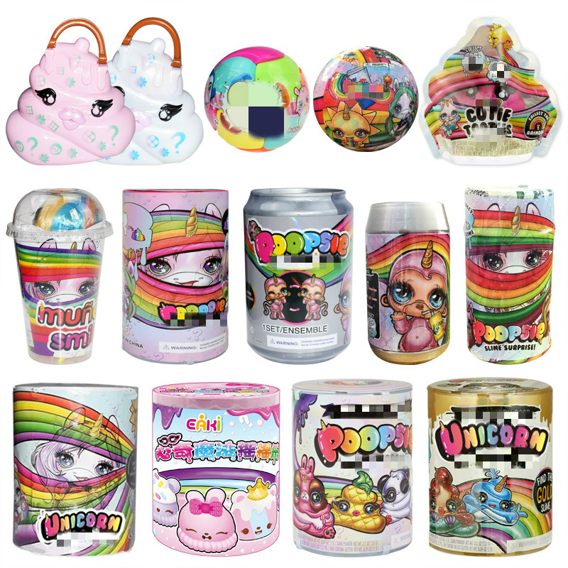 Poopsie Slime Unicorn Ball <font><b>lols</b></font> <font><b>Dolls</b></font> Poop Girls Toys Hobbies Accessories Rainbow Bright Star or Oopsie Starlight image