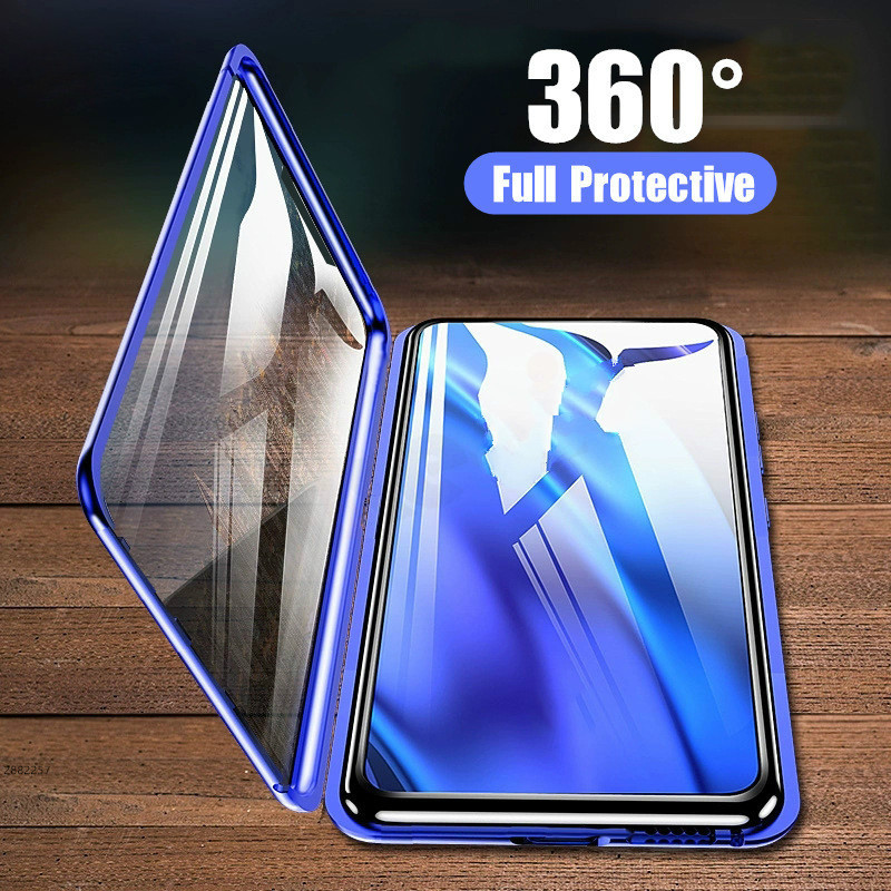 Glass 360-Protective-Case A50 Full-Cover Samsung Galaxy For A50/A30/A10/.. With A6 A8 Plus