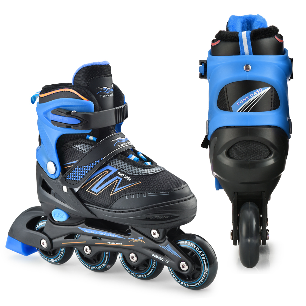 Competition Skates Adjustable Inline Skates With Illuminating Wheels For Kids Boys Girls Ladies Sliding Free Skate