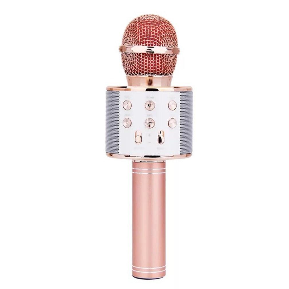 Mobile Phone Karaoke Ktv Wireless Condenser Microphone Live Karaoke Microphone Audio Integrated Professional Microphone