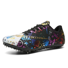 Shoes Track Field Training Sneakers And Sport Man Nail Professional Men Gym Outdoor Black