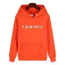 friends tv show logo letter alphabet couple clothes boys man male autumn winter fleece hoodies цена и фото