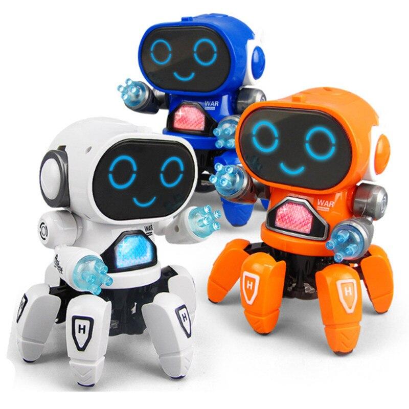 criancas brinquedos musica danca robo polvo eletrico luz engracado criancas presentes para meninos meninas brinquedo educativo