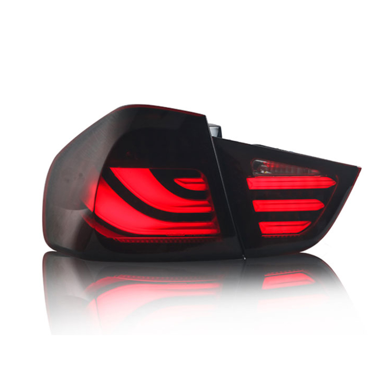 Car accessories Tail Lamp for BMW E90 Taillights 2009-2012 for 3 Series rear lamp led drl+Turn Signal+Brake+Reverse LED light image