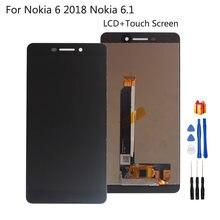 ЖК дисплей с сенсорным экраном для nokia 6 2018 тачскрин ta