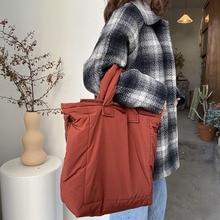 Canvas Bag Handbags Tote-Bags Women Shoulder Large Casual Fashion