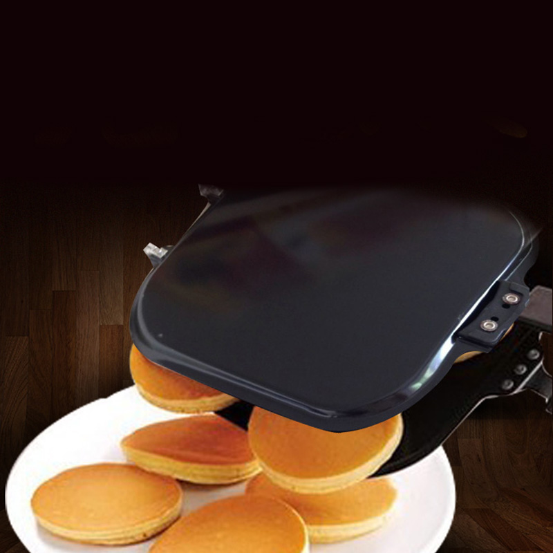 Creative Non-Stick Omelette Pancakes Double-Sided Four-Hole Frying Pan
