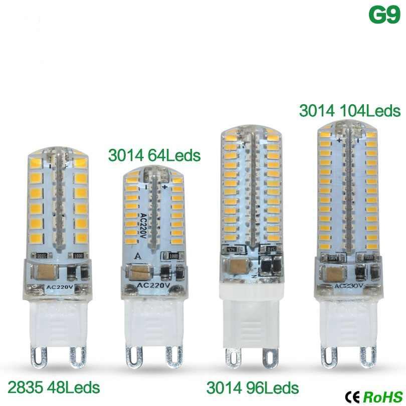 1 sztuk/partia 3W 7W 8W 12W Bombillas AC220V SMD3014 światło halogenowe światła 360 G4 led 12v boże narodzenie światła G4 Lampada G9 żarówka led