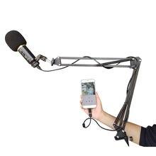 Usb проводной компьютерный микрофон с функцией реверберации