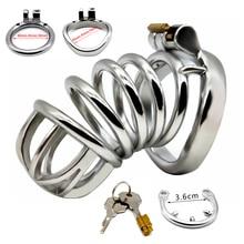 Penis-Cage Chastity-Belt Stealth-Lock Stainless-Steel Male Sex-Toys For Men FRRK