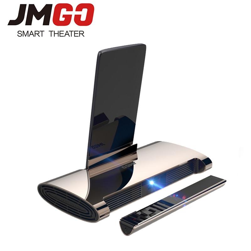 JMGO M6, Android 7.0, Mini Proiettore, Proiettore 200 ANSI Lumen, Proiettore Home Theater. Supporto 1080 P, 4k Video, batteria 5400 mAh, Penna Laser su  Gruppo 1