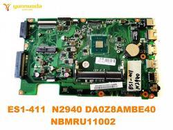 Oryginalny dla ACER ES1 411 płyta główna laptopa ES1 411 N2940 DA0Z8AMBE40 NBMRU11002 testowane dobry darmowy wysyłka w Płyty główne do laptopów od Komputer i biuro na