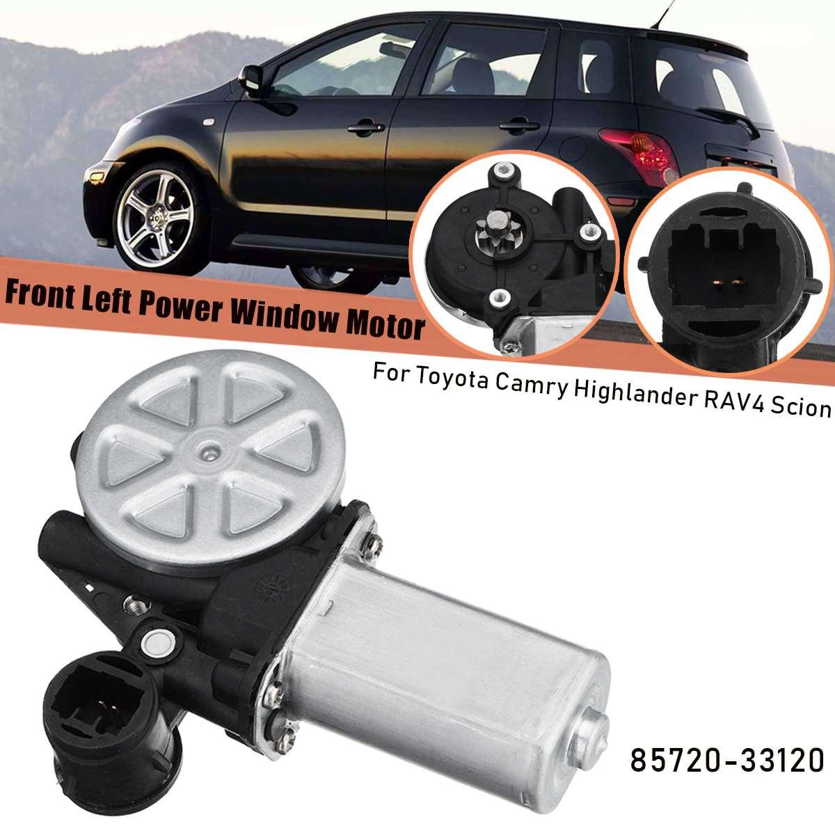 Otomobiller ve Motosikletler'ten Pencere Motorları ve Parçaları'de Ön sağ sol yolcu elektrikli pencere motoru Toyota RAV4 Camry Highlander Scion 8571042070 47 10009 title=