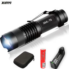 8000LM Mini lampe de poche Led Super lumineux torche Q5/T6/L2 linterna led lanterne Zoomable pêche Camping vélo lumière 14500/18650