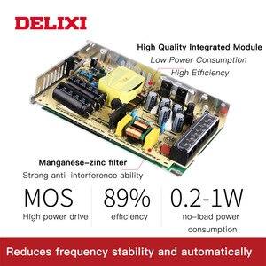 Image 4 - DELIXI ultrathin שנאי מיתוג אספקת חשמל DC 5V 12V 18V 24V 48V 35 350w תאורת שנאי עבור Led רצועת אור