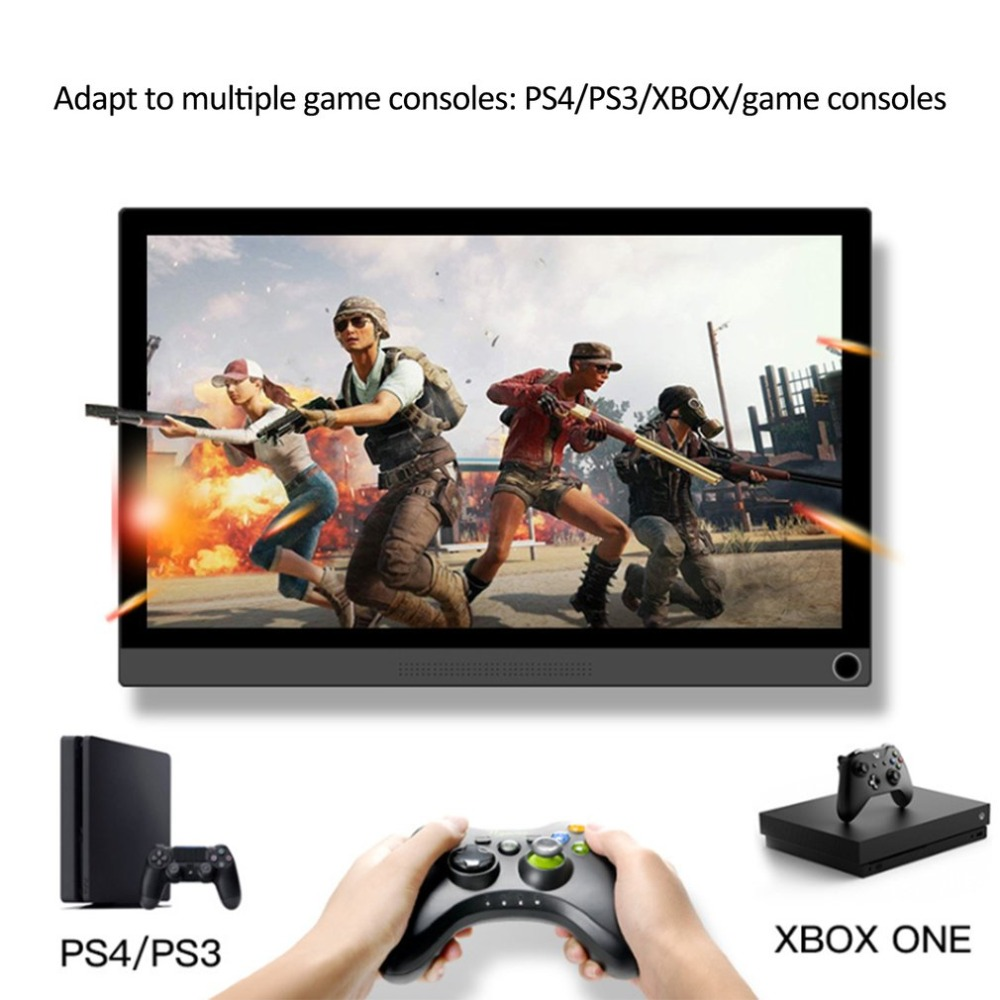 P15A/P15T Tragbare 15,6 zoll Monitor PC HDMI 1080P Typ-C LED Display Monitor für PS4/ XBOX/Schalter/PC/Android Neue ankunft