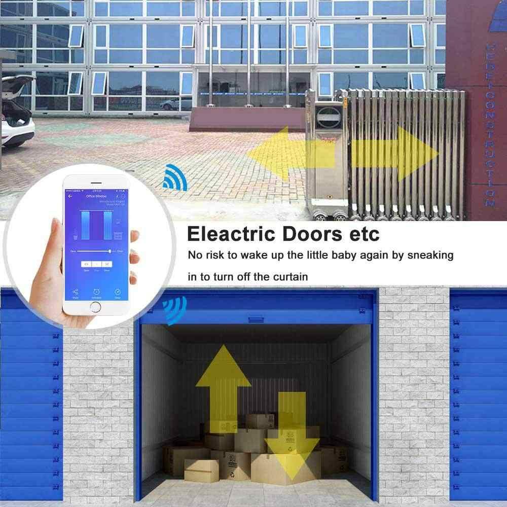 WiFi умный занавес переключатель туя пульт дистанционного управления для гаража электрические двери роллеры работают с Alexa Google Home Nest IFTTT