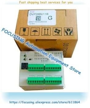 DVP28SV11R PLC New Original SV Series 24VDC 16DI 12DO Relay Output
