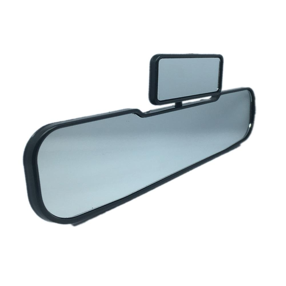 2 In 1 Rotatable Wide Angle Safety Car Mirrors Double Rearview Mirror Child View Infant Kids Interior Accessories