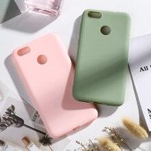 TPU Candy Color Case For Huawei P9 Lite Mini Nova 2017 Y6 Pro SLA-L02 SLA-L22 SLA-L03 SLA-TL00 5.0 Cover Silicone