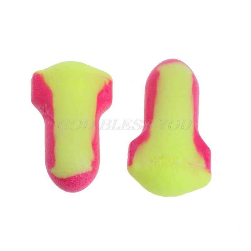 10 пар одноразовых мягких беруши из пенопласта для сна для путешествий защита от храпа защита для сна без шнуров-0