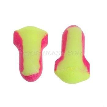 10 пар одноразовых мягких беруши из пенопласта для сна для путешествий защита от храпа защита для сна без шнуров