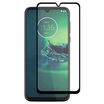 Перейти на Алиэкспресс и купить 2 шт., закаленное стекло для Motorola Moto G8, защита экрана, полное покрытие, стекло для Motorola Moto G8 Plus, 3D пленка с изогнутыми краями HATOLY