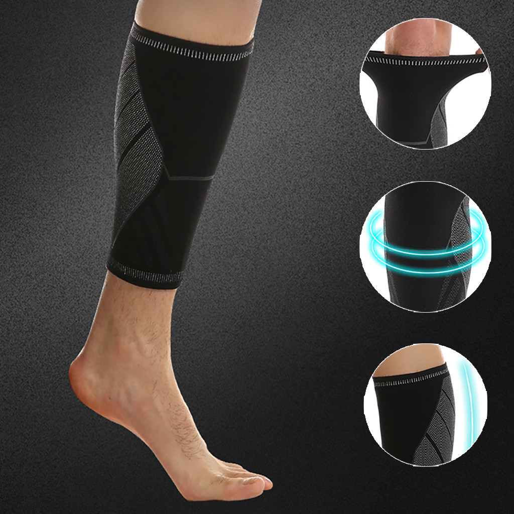 Pair Calf Sleeve Compression Brace Support For Sport Joint Pain Arthritis Relief For Running Dropshipping#p1