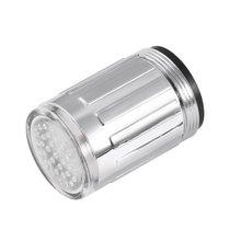 3 Color 7 Colors Changing Glow Light-up LED Kitchen Faucet Shower Tap Novelty Luminous Faucet Nozzle Head Light  Bathroom Light
