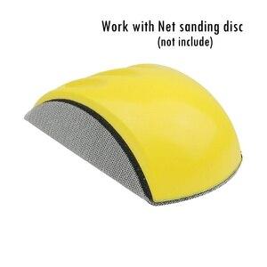 Шлифовальный диск держатель наждачная бумага подложка полировальный диск ручной шлифовальный блок
