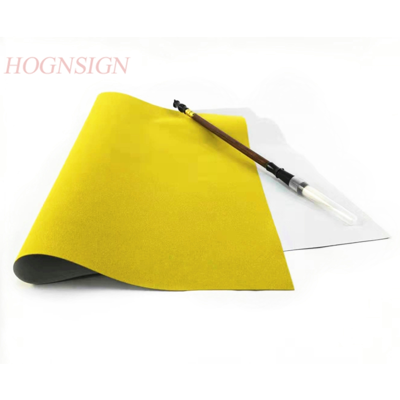Water Drawing Cloth And Writing Brush Thicken Blank Calligraphy Practice Imitation Painting Magic Paper Repeat Educational 2020