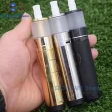 цена на electronic cigarette Mech Mod IMO650350 mechanical mod with Dvarw MTL v2 16 24 RTA 5ml rda mod kit 18650 battery 22mm emmeqiadro