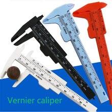 80mm/150mm pinças vernier mm-polegadas dupla regra escala abertura profundidade diâmetro medida ferramenta estudante diy modelo fazendo mini pinça
