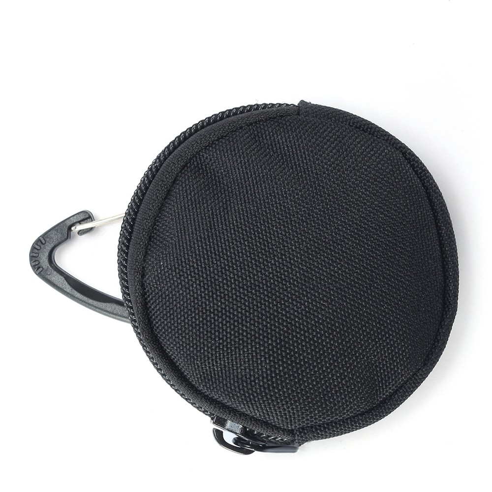 Round Part Bag Earphone Bag Outdoor Small Accessory Kit Smooth ZipperCoin Purse Small Bag