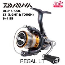 DAIWA REGAL LT vissen spinning reels 1000D 2000D 2500D 2500DXH 3000DC 3000 DCXH 10BB Air Rotor Aluminium Spoel Vissen wielen