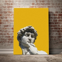Home Decor Prints the David of Michelangelo Sculpture Painting Pictures Wall Art Modular Modern Canvas Poster Bedside Background