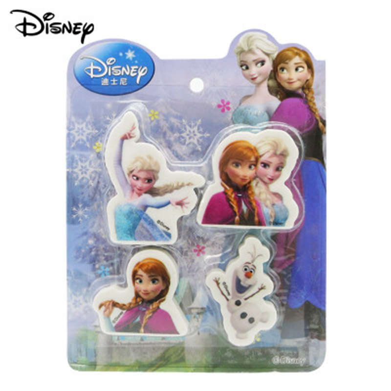 Frozen Cute Princess Elsa Anna Girls Cute Cartoon Eraser Disney  Olaf Writing Supplies Student Learning Stationery Rubber
