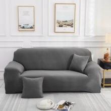 Sofá de canto elástico chaise capa lounge 1/2/3/4 seater apertado macio móveis capas para sala estar longo slipcover sft002