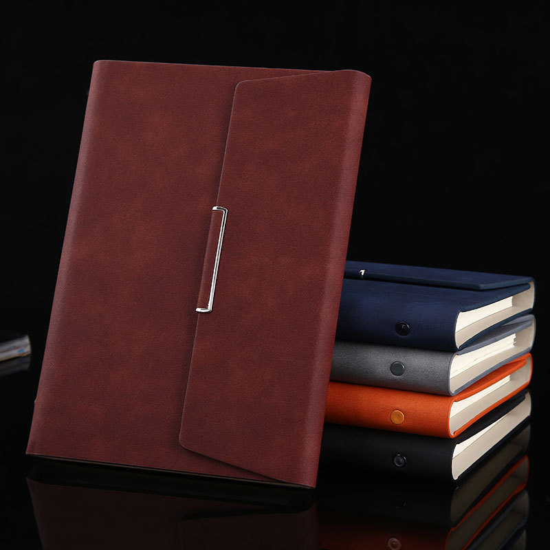 A5 B5 Binder Notebook Spiral Fold Note Book Business Bullet Journal Line Agenda Planner Organizer Back To School Travel Handbook