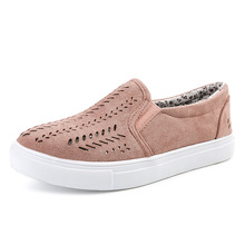 Womens Vulcanize Shoes New Fashion Sneakers Platform Shoes Woman Casual Low-cut Slip-on Shoes Fretwork Plus Size Flats Loafers cootelili women sneakers platform casual shoes woman flats slip on letter loafers ladies black gray blue red plus size 40 41 42