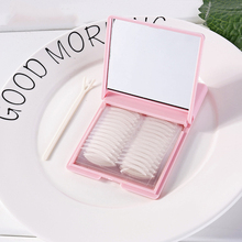 240 Pairs New M/S/L Double Eyelid Tape Invisible Big Eye Decoration Fold Shadow Sticker Boxed with Mirror Tools
