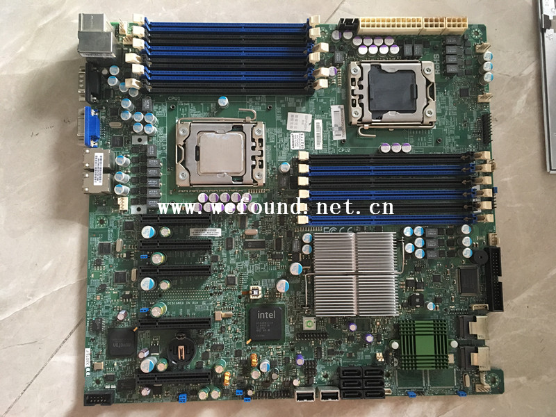 100% Working Server Motherboard For X8DT6-F 5520 Support For Discrete Graphics Fully Tested