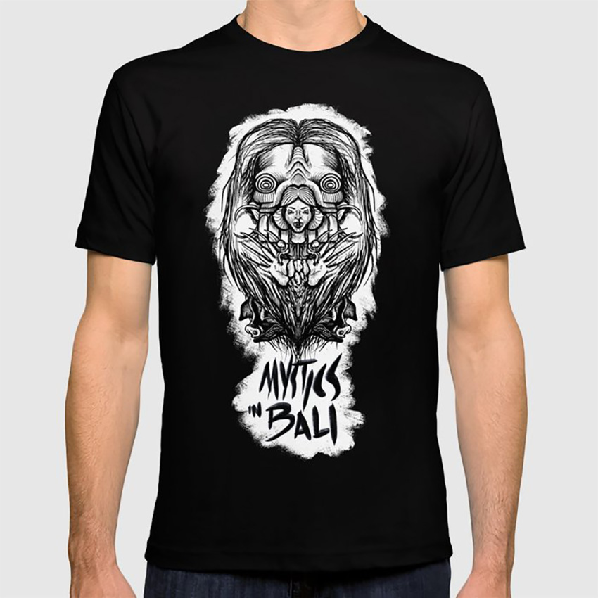 Mystics In Bali T Shirt Mystics Bali Movie Classic Horror Cult Witches image