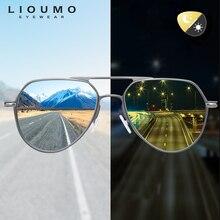 2020 mode Design Männer Sonnenbrille Polarisierte Photochrome Tag Nacht Vision Fahren Chameleon Sonnenbrille Frauen zonnebril heren