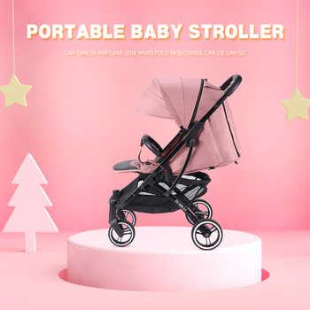 Frete grátis carrinho de bebê ultra leve dobrável pode sentar adequado 4 estações alta demanda e 8 presentes queridos pro 2020