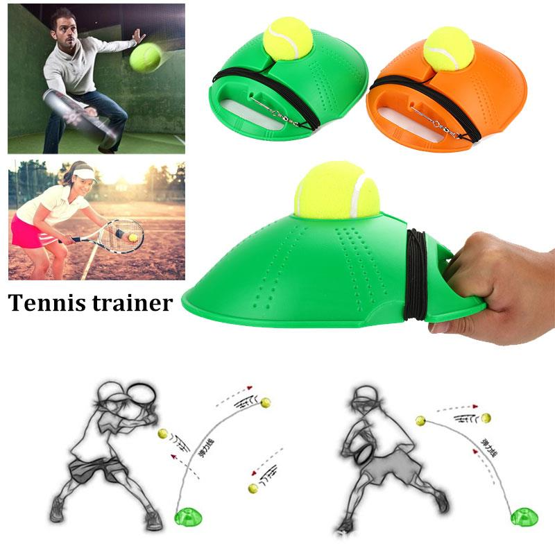 Practical Tennis Training Tool Tennis Singles Linker 2 Color Home Athletics Movement Sparring Device Tennis Practice Trainer