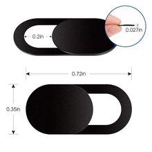 Крышка затвора веб камеры магнитный слайдер пластиковая Универсальная