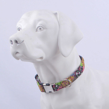 2019Pet Neck Strap Bohemian Style Dog Collar With Leash Ring For Dogs Unique Metal Seat Belt Buckle Accessories