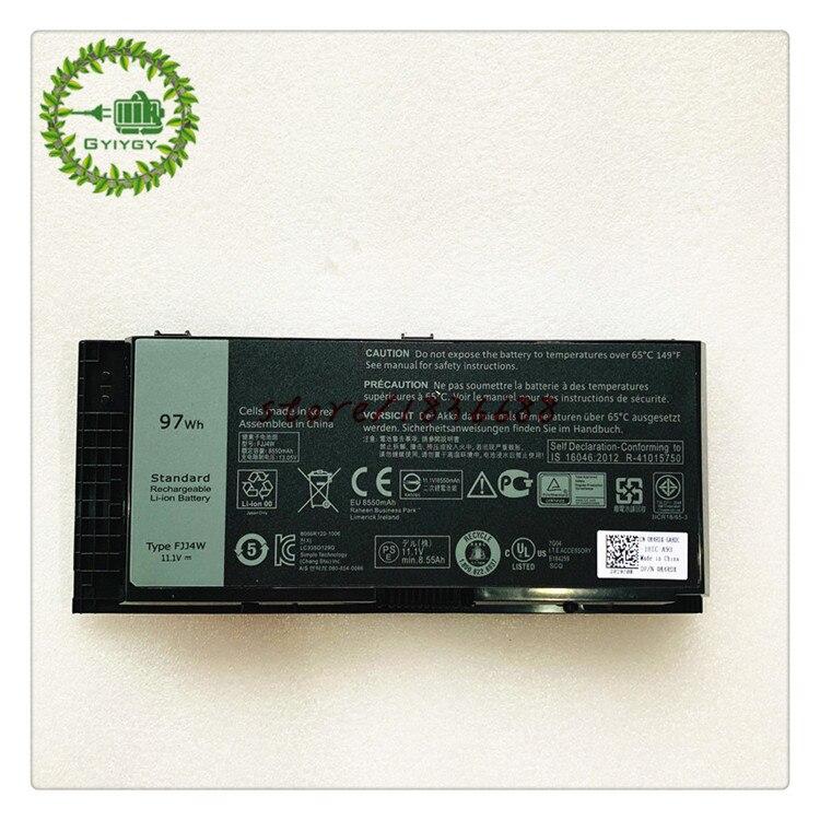 Аккумулятор для ноутбука GYIYGY 11,1 V 97Wh FJJ4W FV993 04GHF 0TN1K5 для DELL Precision M4600 M4700 M4800 M6600 M6700 M6800