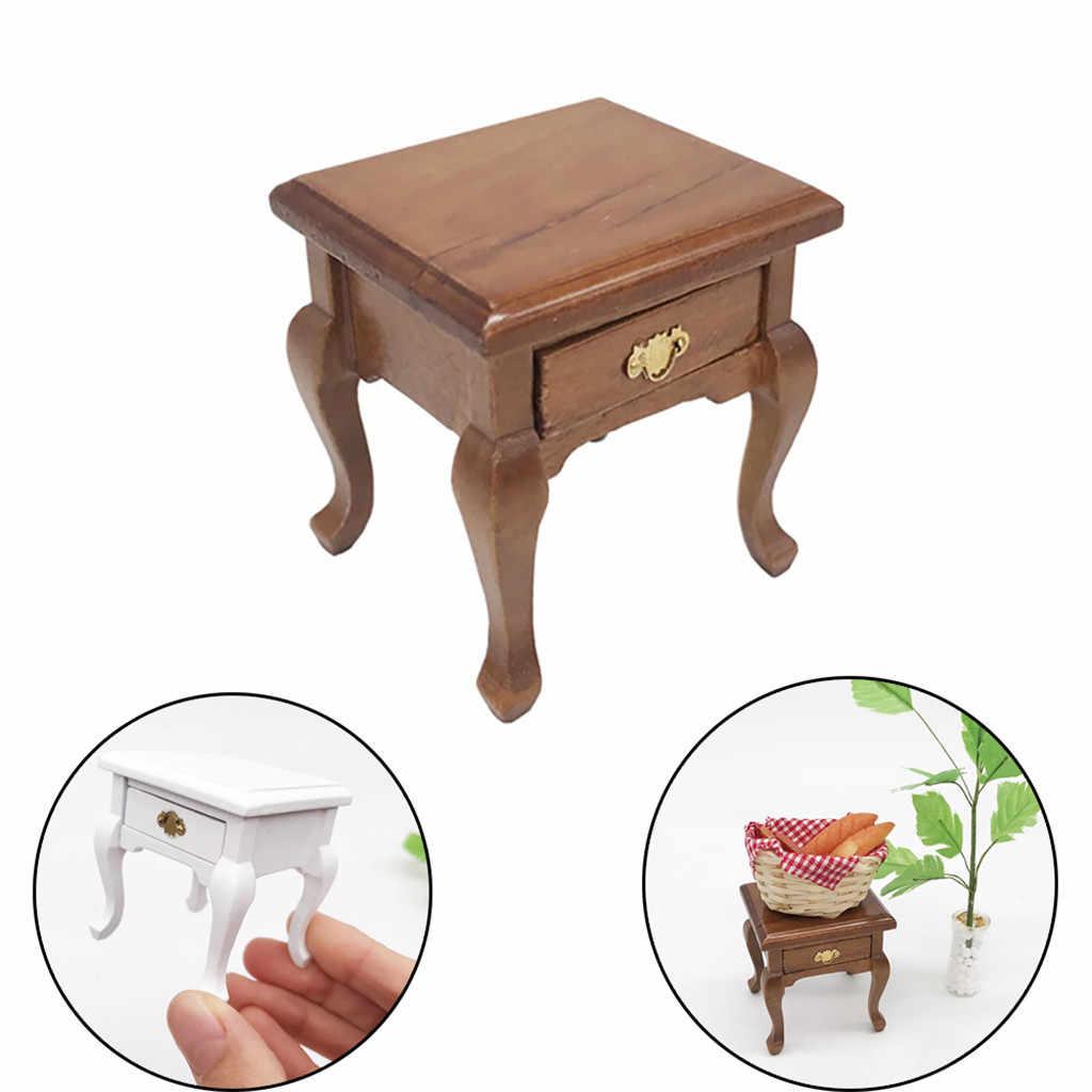1/12 Mini muebles de casa de muñecas gabinete de sala de estar en miniatura niños de juguete casa de muñecas accesorios Puerta ratón Perez Poppenhuis
